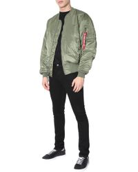 Alpha Industries - BOMBER MA-1 REVERSIBILE - Lyst