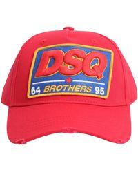 DSquared² - Cappello Berretto Regolabile Dsq Brothers - Lyst 3b5616ae1333