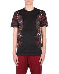 Lanvin - Cotton T-shirt With Dragon Print - Lyst