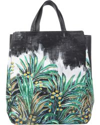 Carven - Palm Varenne Leather Tote - Lyst