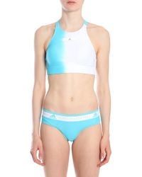 adidas By Stella McCartney - Ombre-effect Swim Top - Lyst