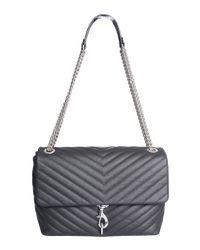 Rebecca Minkoff - Edie Leather Shoulder Bag - Lyst