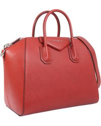 Givenchy - Medium Antigona Leather Bag - Lyst