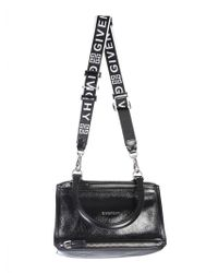 Givenchy - Small Pandora Bag In Hammered Leather - Lyst