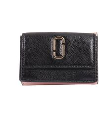 Marc Jacobs - Mini Trifold Leather Wallet - Lyst
