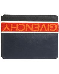 Givenchy - Reverse Large Leather Pouch - Lyst