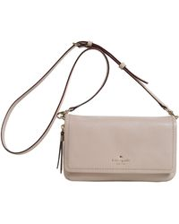 Kate Spade | Cooble Hill Taryn Textured Leather Messenger | Lyst