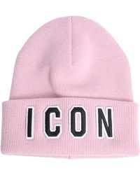 DSquared² - Icon Beanie - Lyst