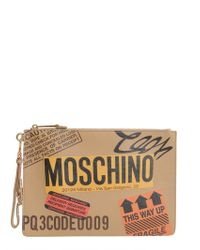 Moschino   Recycling Motif Pouch   Lyst