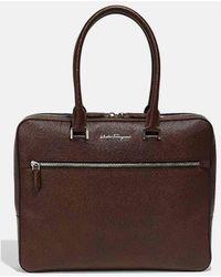 Ferragamo | Evolution Briefcase 1 Gusset | Lyst