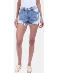 3x1 - W2 Mason Frayed Hem Short In Vandal - Lyst