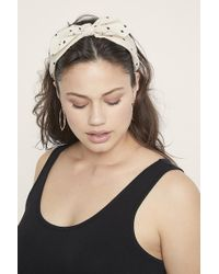 Eloquii - Dot Bow Headband - Lyst