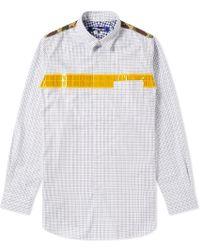 Junya Watanabe - Reflective Taped Shirt - Lyst