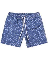 Hartford - Batik Swim Short - Lyst