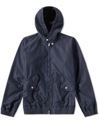 Nonnative - Trainer Hooded Jacket - Lyst