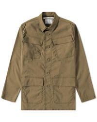 White Mountaineering - Military Shirt Jacket - Lyst