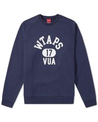 (w)taps | Rim Crew Sweat | Lyst