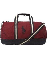 Polo Ralph Lauren - Canvas Polo Player Logo Duffle Bag - Lyst