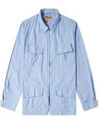 bcccfa0ed13e Lyst - Nigel Cabourn Authentic Everest Parka in Blue for Men