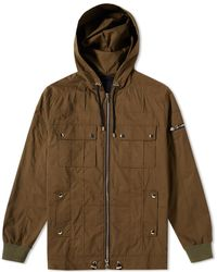 Balmain | Multi Pocket Hooded Jacket | Lyst