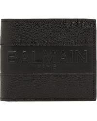 Balmain - Leather Wallet - Lyst