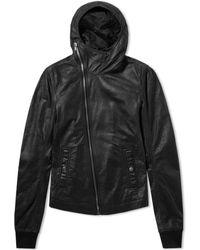 Rick Owens - Bullet Leather Jacket - Lyst
