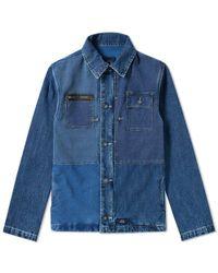 Bleu De Paname - Patchwork Naval Jacket - Lyst