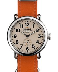 Shinola - Runwell 41mm Watch - Lyst