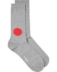 Blue Blue Japan - Japanese Flag Sock - Lyst
