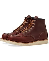 """Red Wing - 8138 Heritage Work 6"""" Moc Toe Boot - Lyst"""