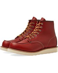 """Red Wing - 8131 Heritage Work 6"""" Moc Toe Boot - Lyst"""