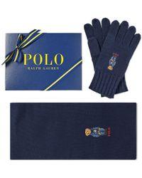 Polo Ralph Lauren - Classic Bear Glove & Scarf Gift Box - Lyst