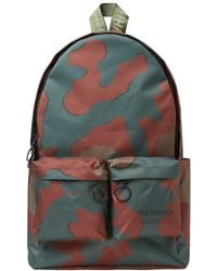 Off-White c/o Virgil Abloh - Camouflage Print Backpack - Lyst