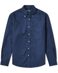 Gitman Brothers Vintage - Overdyed Oxford Shirt - Lyst