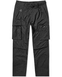 f9c60ac792ff4 Nike Lab Acg Variable Tapered Cotton-blend Drawstring Trousers in Black for  Men - Lyst