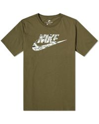 6fc41c83109026 Lyst - Nike Jeter Re2pect Graphic T-shirt in Gray for Men