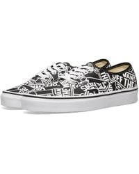 Vans - Off The Wall Printed Authentic - Lyst