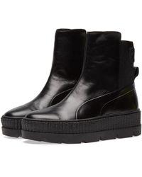 PUMA - X Fenty By Rihanna Chelsea Sneaker Boot - Lyst
