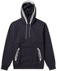 Wooyoungmi - Oversized Branding Taped Hoody - Lyst