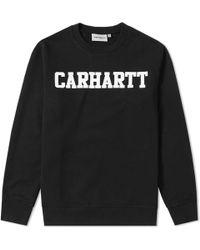 Carhartt WIP - University Sweat - Lyst