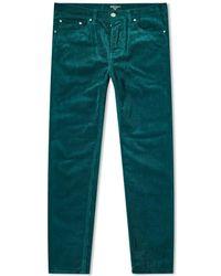 Carhartt WIP Carhartt Newel Cord Pants - Green