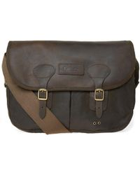 Barbour - Wax Leather Tarras - Lyst