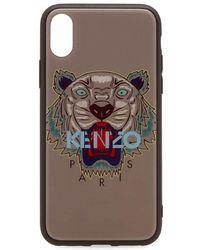 KENZO - Acrylic Tiger Iphone X Case - Lyst