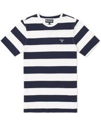 Barbour - Nautical Bass Stripe Tee - Lyst
