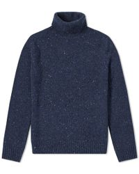 Hartford - Donegal Roll Neck Knit - Lyst