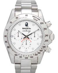 A Bathing Ape | Type 3 Bapex Watch | Lyst