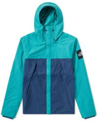 b461a3a1284d The North Face Mountain Parka Jacket in Blue for Men - Lyst