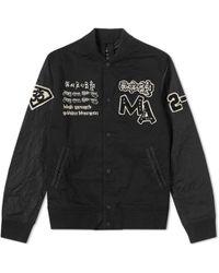 Maharishi - Mani Stadium Varsity Jacket - Lyst