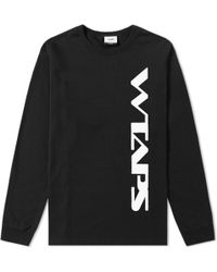 WTAPS - Long Sleeve Stomper Tee - Lyst