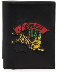 KENZO - Jumping Tiger Small Wallet - Lyst